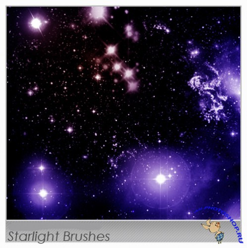 Starlight Brushes set for photoshop