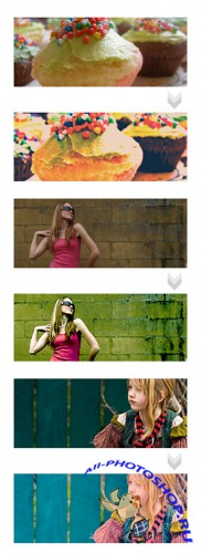 Cool Photoshop Action pack 169