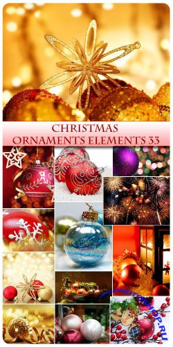 Christmas Ornaments and Elements 33