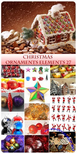 Christmas Ornaments and Elements 27