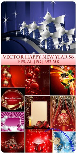 Vector Happy New Year 38