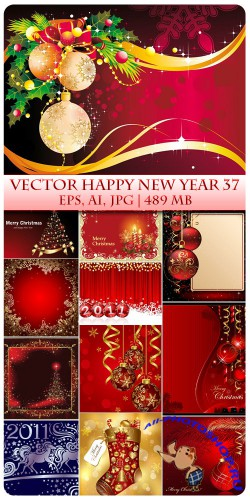 Vector Happy New Year 37