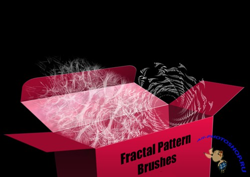 Brushes set - Fractal Pattern