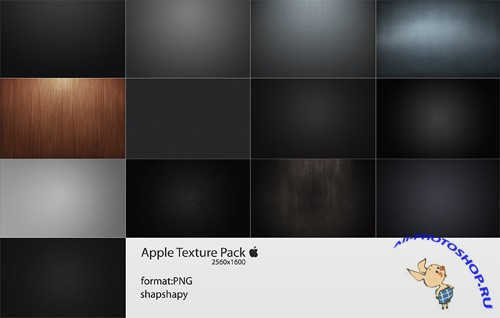 Apple texture pack