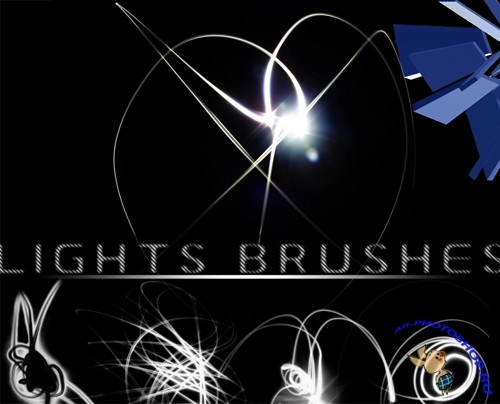 Lights Brushes for Photoshop