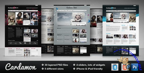 ThemeForest - Cardamon - Multipurpose HTML Template - Rip