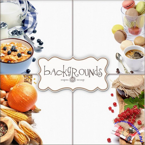 Foods Backgrounds  Фоны - Еда