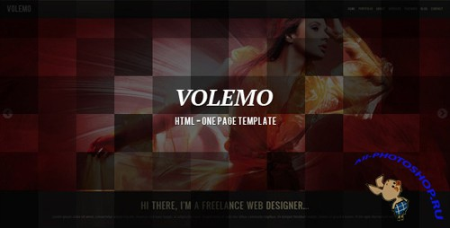 ThemeForest - Volemo - HTML One Page Template - Rip