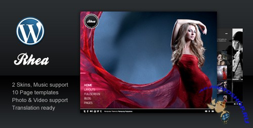 ThemeForest - Rhea For Photography Creative Portfolio v1.0 for Wordpress 3.x