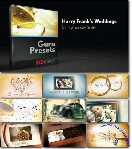 Harry Frank's Weddings for Trapcode Suite