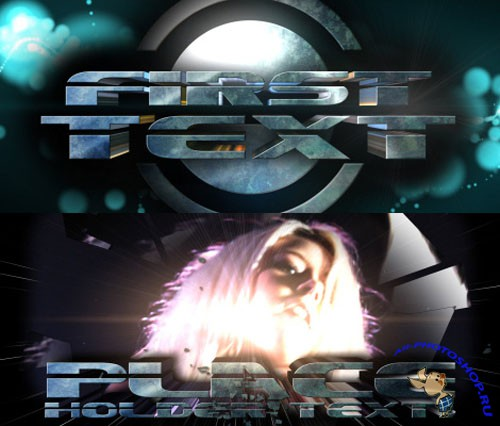 Videohive - Sci-Fi TrailerV3 3D TEXT 53950 - Project for After Effects