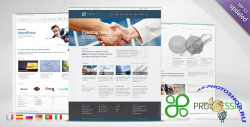 ThemeForest - Progressio v1.2 - Premium Business WordPress Theme