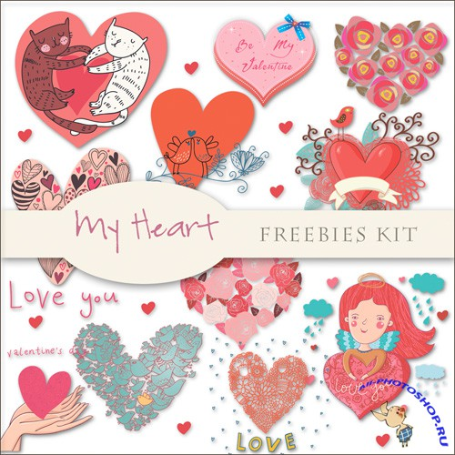 Scrap-kit - My Heart