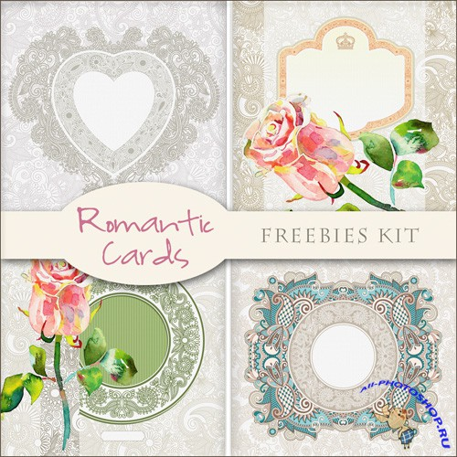 Backgrounds - Romantic Cards