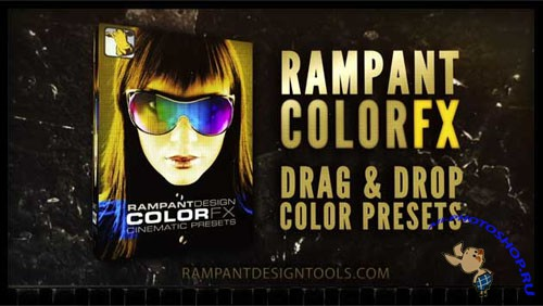 Rampant ColorFX - 101 Animation Cinematic Color Presets for After Effects