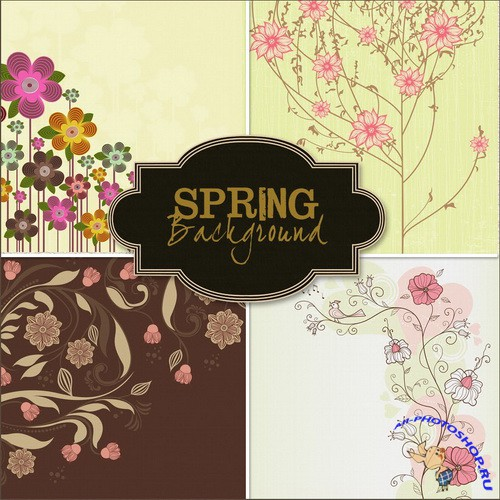 Spring Background  Весенние фоны