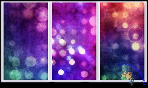 Grungy Abstract Bokeh Textures for Photoshop