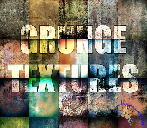 20 Grunge Textures  for Photoshop