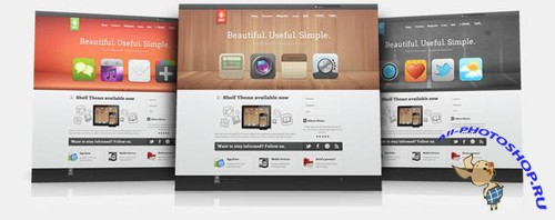 Shelf v1.0.6 - YooTheme Joomla 2.5 Template