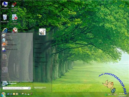 Hive - theme for Windows 7