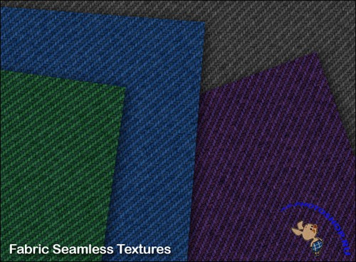 Jeans seamless Textures for Photoshop