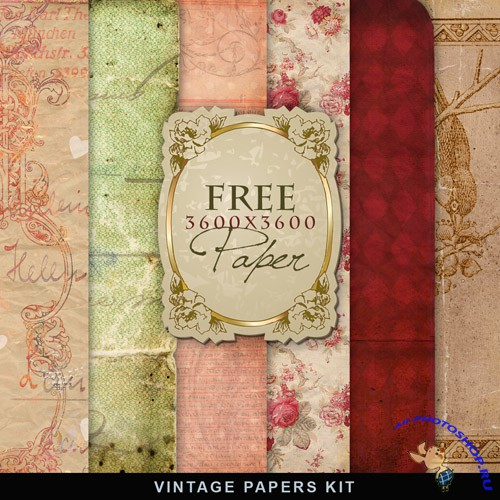 Textures - Old Vintage Backgrounds #67