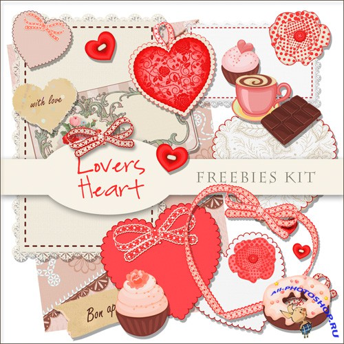 Scrap-kit - Lovers Heart