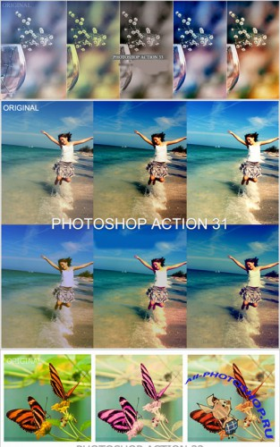 Cool Photoshop Action pack 204