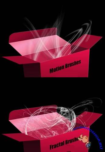 Motion Brushes and Fractal Set