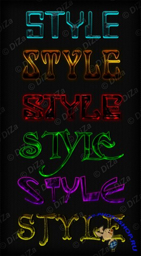 Text styles by DiZa - 43