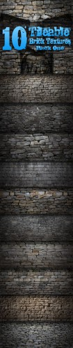GraphicRiver - 10 Tileable Brick Textures - Pack One (REUPLOAD)