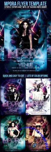 GraphicRiver - Mpora Flyer Template (REUPLOAD)