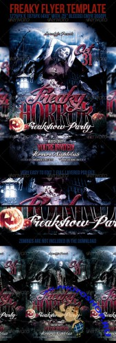GraphicRiver - Freaky Flyer Template (REUPLOAD)