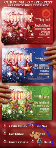 GraphicRiver - Christmas Gospel Fest Template (REUPLOAD)