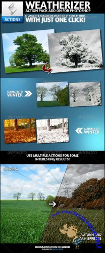 GraphicRiver - Weatherizer | Photoshop Actions (REUPLOAD)