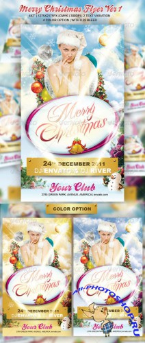 GraphicRiver - Merry Christmas Flyer Ver1 (REUPLOAD)