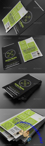 GraphicRiver - Cubic Business Card (REUPLOAD)