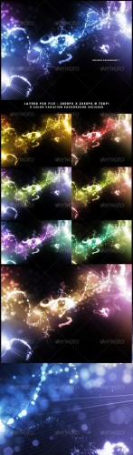 GraphicRiver - Heavenly Background 9