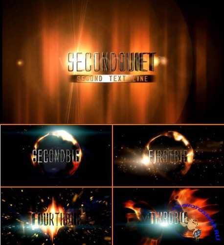 Fiery Trailer - Project for After Effects (Videohive)