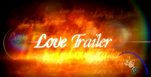 Love Trailer — After Effects Project