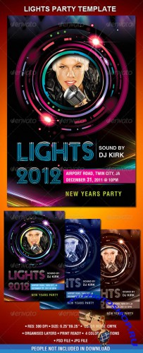 GraphicRiver - New Year's Party Flyer