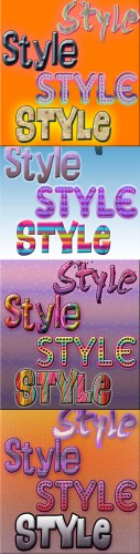 Cool Text styles for Photoshop pack 23