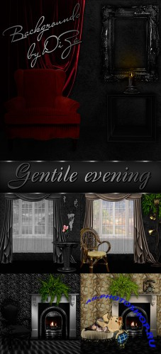 Backgrounds Gentile evening