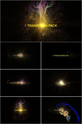 Videohive - Particules Transitions Pack 852423 - Project for After Effects