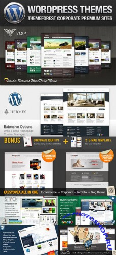 ThemeForest Corporate Premium - 10 Wordpress Themes