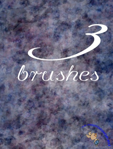 3 abstract brushes set for Photoshop