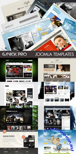 GavickPro Complete Joomla Templates and Extensions
