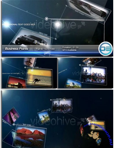 Videohive - Business Points 63976 - Project for After Effects