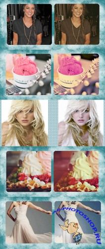 Cool Photoshop Action pack 249