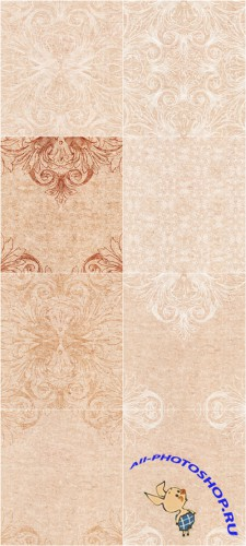 Delicate paper backgrounds